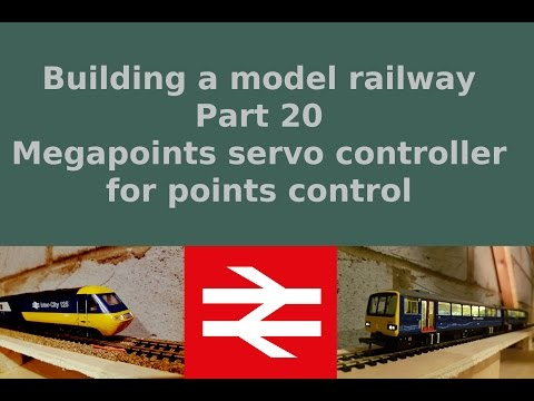 Part 20, Megapoints unboxing and test – Building a model railway