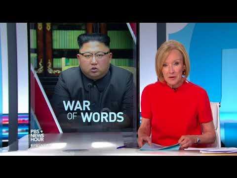 PBS NewsHour: North Korea suggests U.S. declared war after Trump tweet