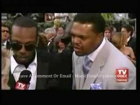 Three 6 Mafia  Red Carpet Interview Oscars