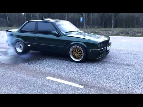 BEST OF BMW E30 - Burnout, Drift, 2step, Exhaust sound - EIGHTY7 CLUB