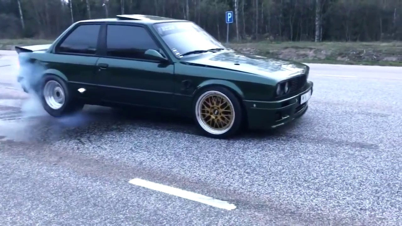 BEST OF BMW E30 – Burnout, Drift, 2step, Exhaust sound – EIGHTY7 CLUB