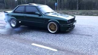 BEST OF BMW E30 - Burnout, Drift, 2step, Exhaust sound - EIGHTY7 CLUB