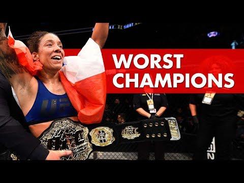10 Worst UFC Champions