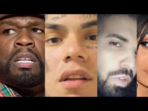 50 Cent REACTS Tekashi, Tekashi TROLLS Cardi B siding with Nicki Minaj? Drake BMF