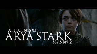All Scenes of Arya Stark (Game of Thrones)