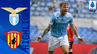 Lazio 5-3 Benevento | Lazio secures victory despite Benevento second half comeback | Serie A TIM