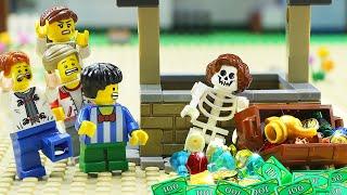 Legoland | Magic Wishing Well: Secret Underground Tunnel | Lego Stop Motion Animation