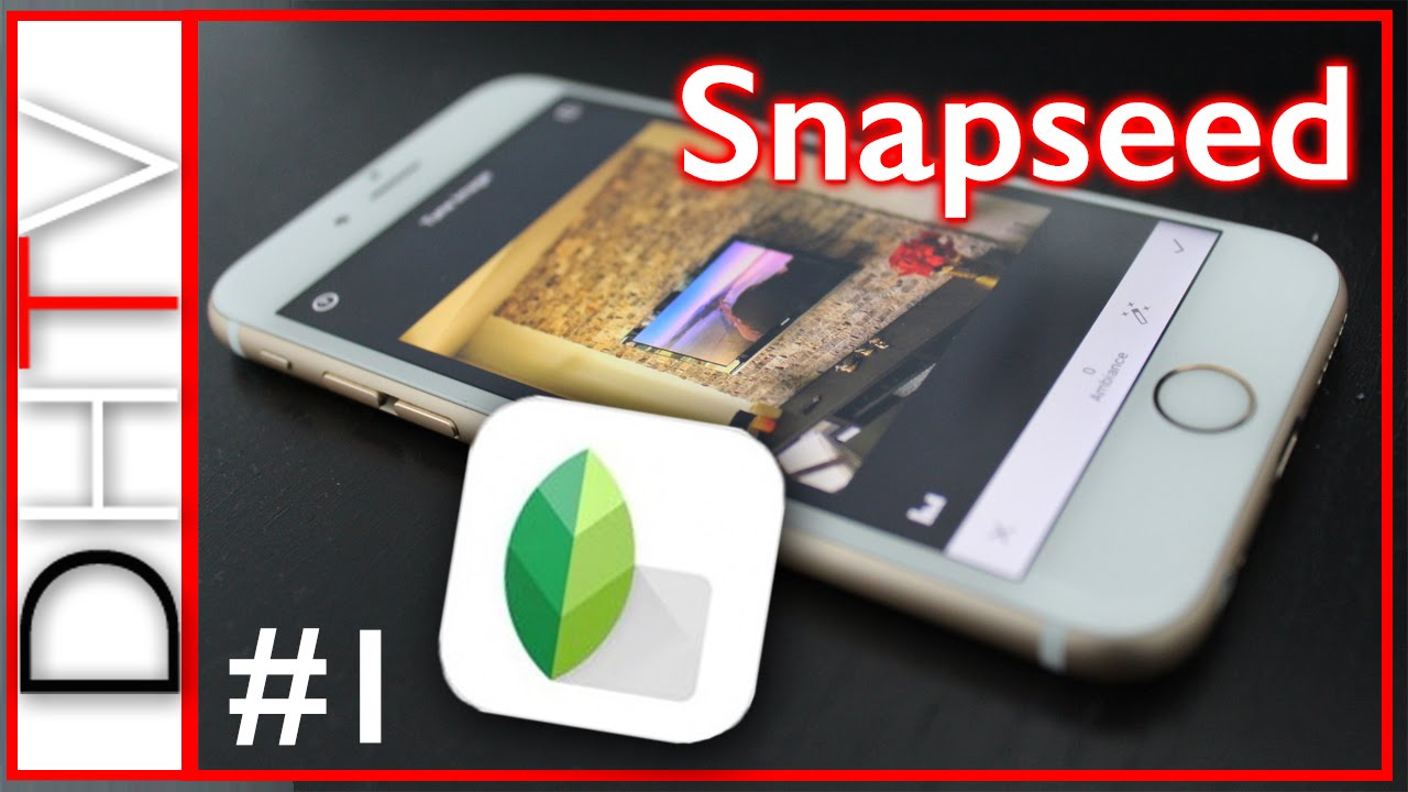 Best Free Photo Editing Apps iPhone - Snapseed #1
