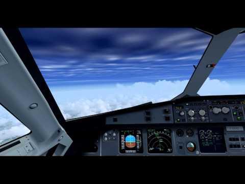 Vol AF6206 Paris-Orly / Nice Côte d'Azur en Airbus A320 avec Air France Virtuel