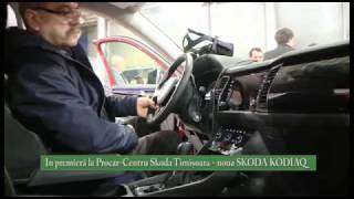 Prezentare oficiala Skoda Kodiaq la Procar Timisoara
