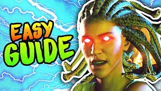 COMPLETE ANCIENT EVIL EASTER EGG GUIDE TUTORIAL (Black Ops 4 Zombies Easter Egg Walkthrough)