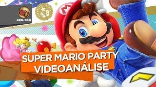REVIEW - Super Mario Party é ótimo com a galera, mas, sozinho, nem online salva