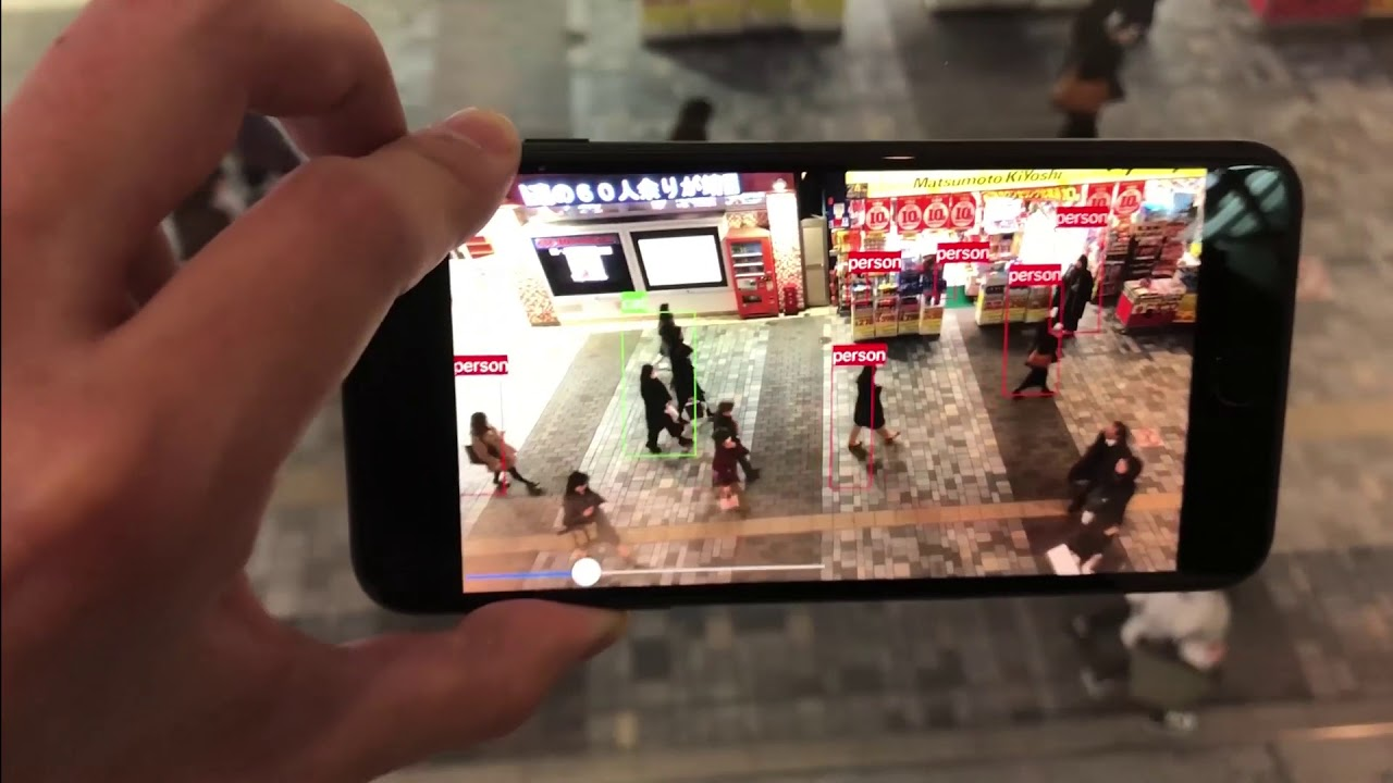 YOLO(Realtime Object Detection) on iOS #1