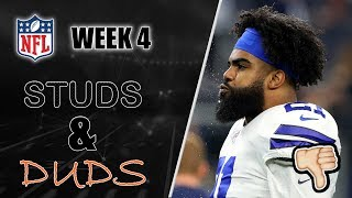 The Studs And Duds From NFL Week 4 | What Is Ezekiel Elliott Actually Good At?