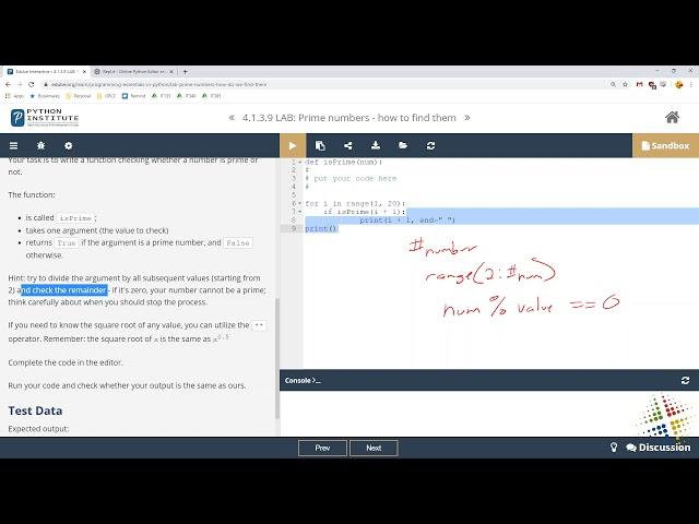 Python Institute lab 4.1.3.9