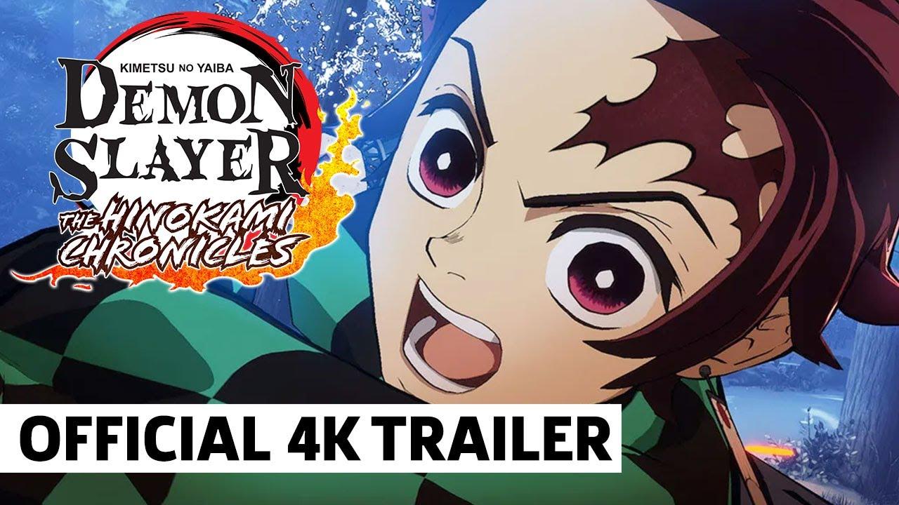 Demon Slayer The Hinokami Chronicles Adventure Mode,  Mugen Train Arc, VS Mode Trailer