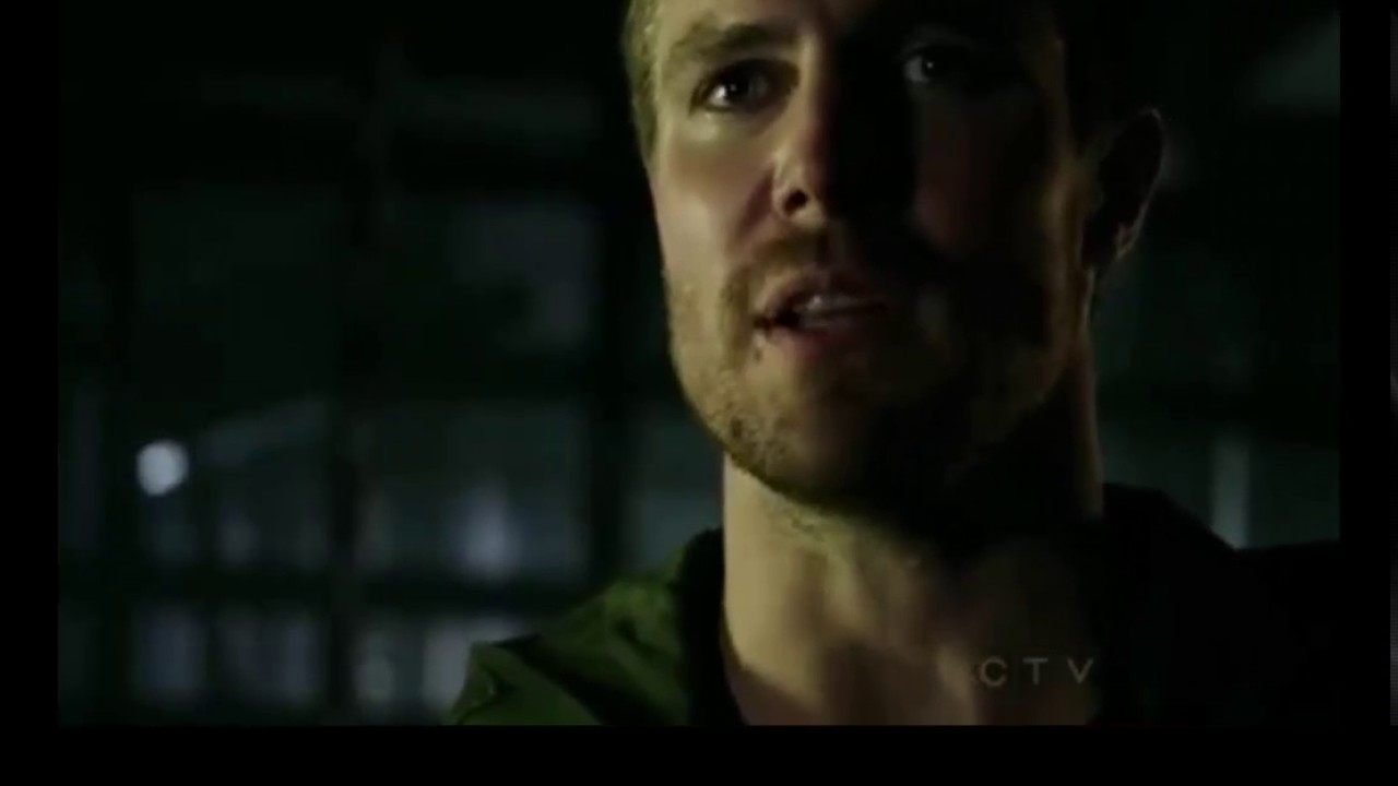 Arrow 1x04 - Part 1 - Oliver shows Diggle he is The Hood