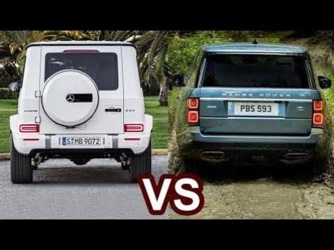 2019 Mercedes G-Class VS 2018 Range Rover New Car 2018