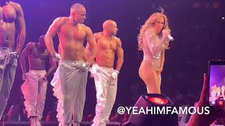 """Jennifer Lopez Live """" It's My Party Tour """" in NYC at Madison Square Garden"""