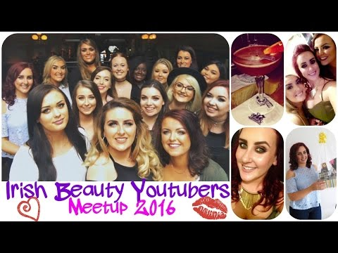 IBY Meetup 2016 💋 Irish Beauty Youtubers Meetup in Dublin