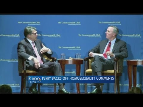 Perry says 'stepped right in it' with gay remarks