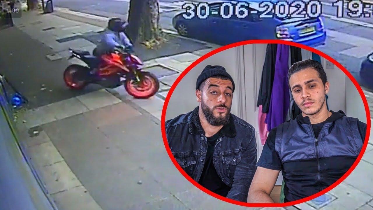 The KTM is stolen 😱- موطور صاحبي تسرق وهكدا تمت العملية 😭