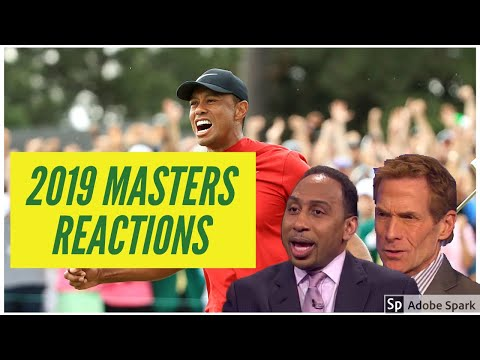 Tiger Woods 2019 Masters Reactions (Stephen A., Skip Bayless, and more)
