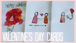 Download Video Watercolor and Ink // Valentine's Day Cards MP3 3GP MP4