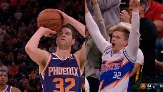Jimmer Fredette gets his first points in a Suns uniform & gets standing ovations from Jazz crowd