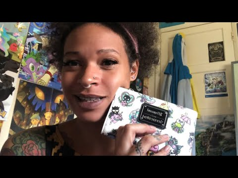 Unboxing Loungefly X Sanrio Wallet & Aggretsuko Tissue Box Cover