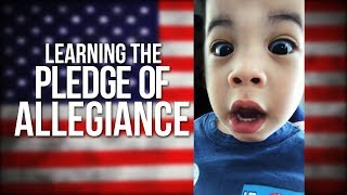 Learning The Pledge of Allegiance