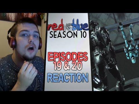 Red vs. Blue Season 10 Episodes 19 & 20 Reaction