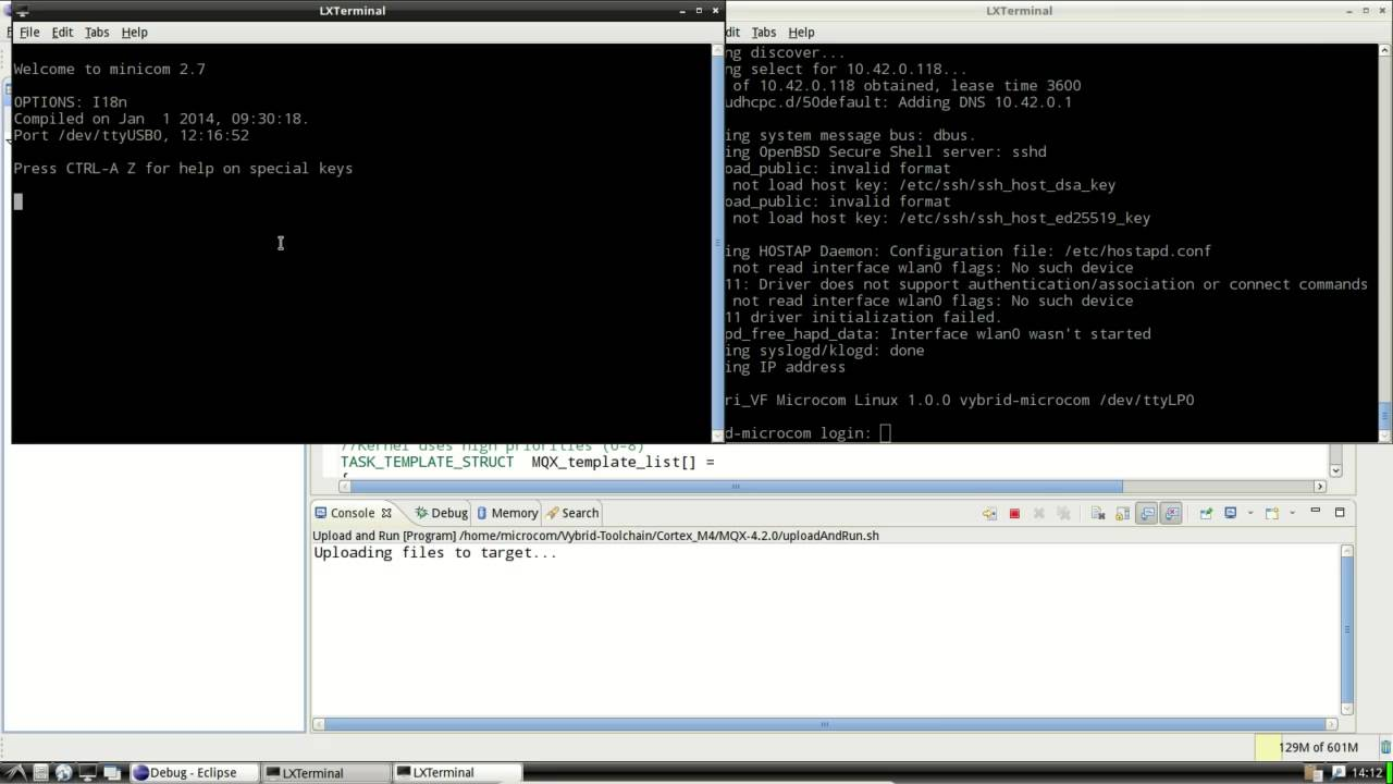 Video 6: Eclipse, M4 App, Compiling, Running, Debugging with Segger