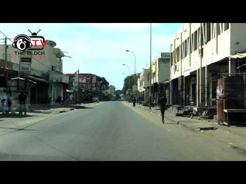 Empty Streets in The Gambia, Jan 19th before President Adama Barrow´s Innuguration