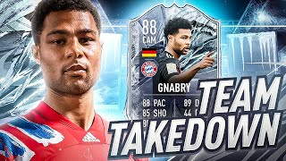 PRIME ICON PACKED!!!!! FREEZE GNABRY TEAM TAKEDOWN! #FIFA21
