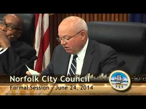 Formal 06/24/14 - Norfolk City Council