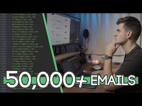 ASKING 50,000+ COMPANIES FOR FREE STUFF! | Part 1