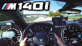 0-250km/h | BMW M140i | POV- Acceleration and Top speed TEST ✔
