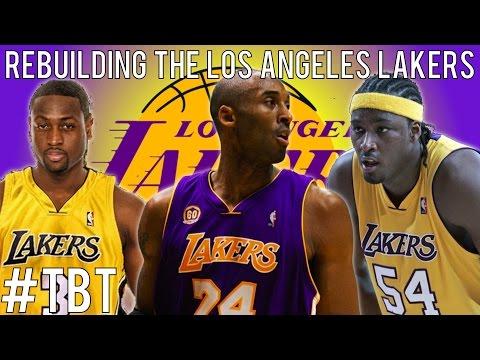 (#TBT) NBA 2K14 MyGM: Rebuilding the Los Angeles Lakers!