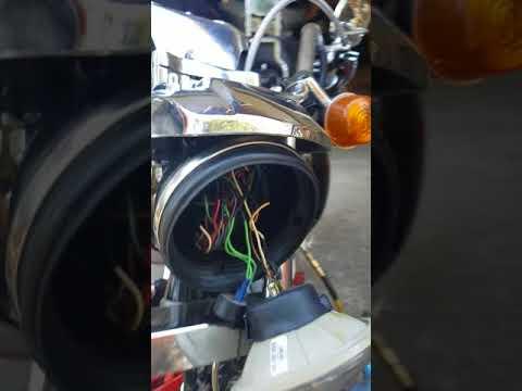 Shovel head primary side oil leak
