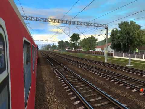 Bucuresti Nord-Chitila In Trainz Simulator By AdySoft
