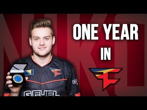 CS:GO - Niko - One year in FaZe Clan