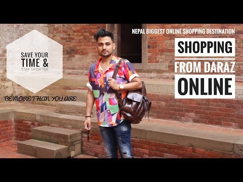 Shopping From Daraz Nepal Is Explainable    Men's Fashion Style    5pmVlogs