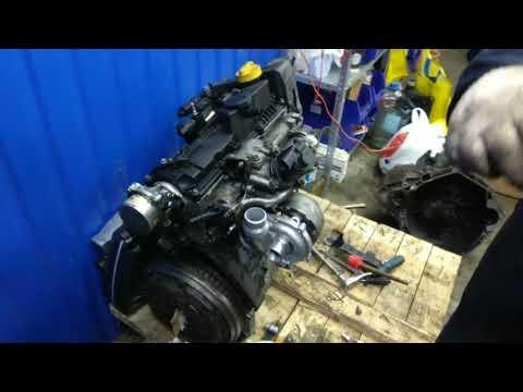 Ремонт двигателя K9K 1.5 Dci Reno, Renault, Nissan. Сборка и первый запуск.  Трофейный #7