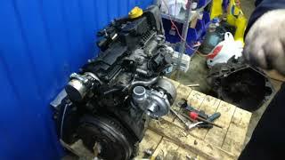 Ремонт двигателя K9K reno, nissan. Сборка и первый запуск.  Трофейный #7