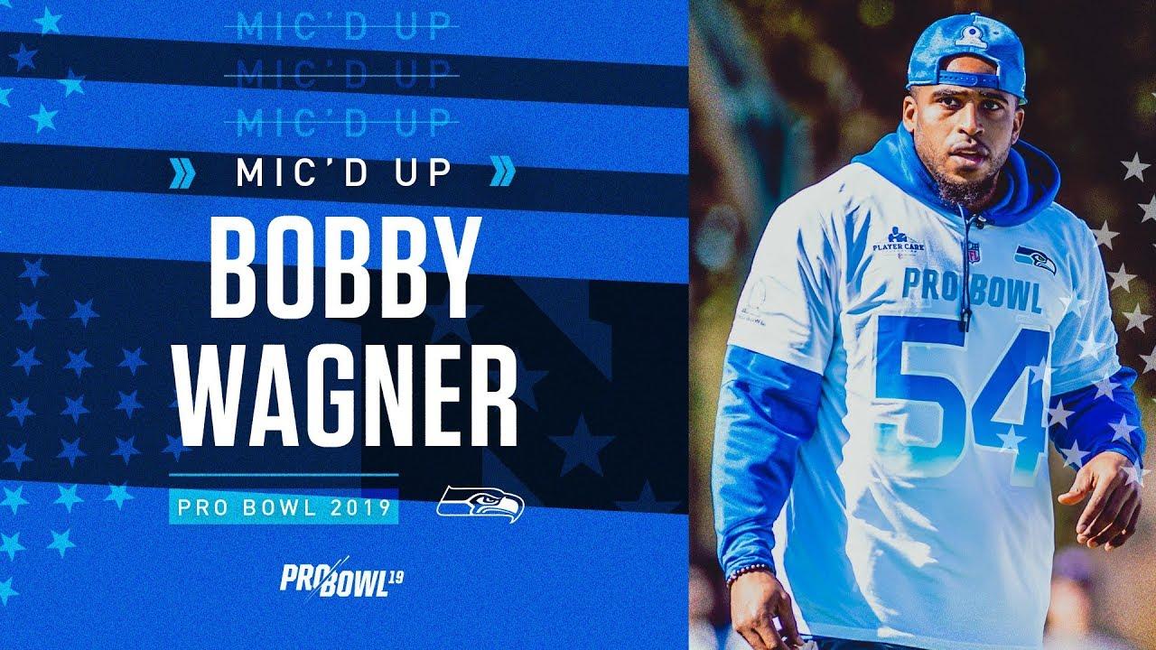 pretty nice 4782a 447c1 2019 Pro Bowl Mic'd Up: Seahawks Linebacker Bobby Wagner