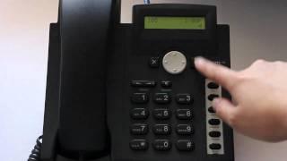 Snom 300 - Make and Receive Calls