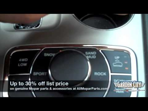 How To Adjust The Air Suspension in a Jeep Grand Cherokee