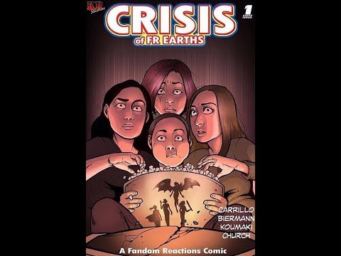 CRISIS OF FR EARTH COMIC ISSUE #1