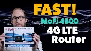 FAST UNLIMITED Rural Internet Solution! MoFi 4500 Wireless Router